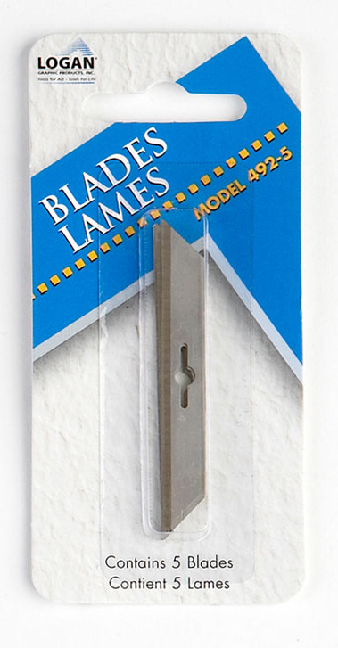 Logan 492-5 Blades: Fits 1500, Pack of 5