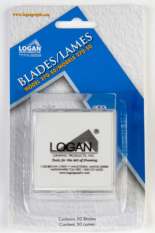 Logan 270-50 Blades: Fits 250, 301, 301-1, 350-1, 401, 424, 440, 450, 450-1, 500, 525, 550-1, 560-1, 650-1, 655-1, 660-1, 700-1, 700-S, 701, 750, 750-1, 760-1, 2000, 3000 & 4000, Pack of 50