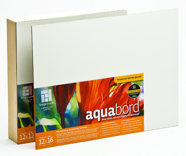 "Ampersand 1/8"" Thick Aquabord: 11\"" x 14\"", Case of 20"