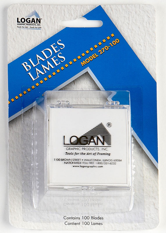 Logan 270-100 Replacement Blade Pack of 100, Blister Card