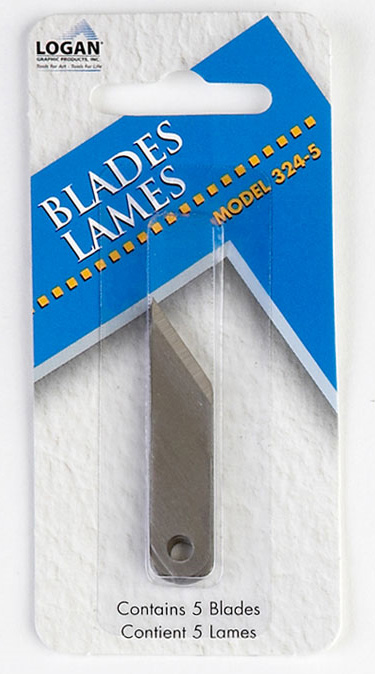 Logan 324-5 Blades: Fits 201 & 1100, Pack of 5