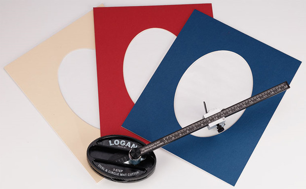 Logan 201 Oval & Circle Mat Cutter