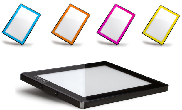 "Gagne Porta-Trace LED Light Panel: 11"" x 18"", Pink"