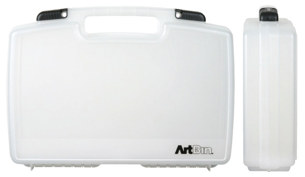 "Artbin Large Quick View Stdandard Base Carrying Case: Clear Transparent,  17"" x 3.875\"" x 12.375\"""