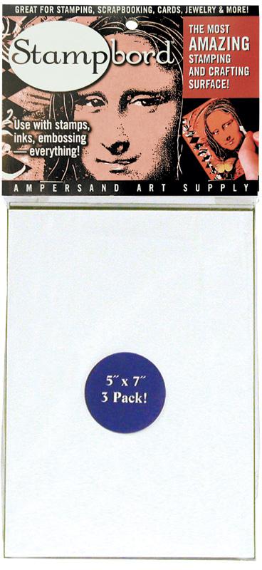 "Ampersand Stampbord: 5\"" x 7\"", Case of 30"