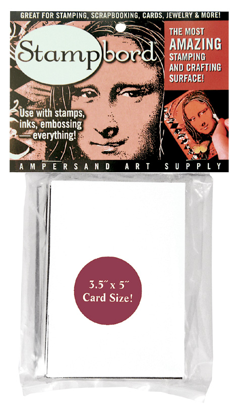 "Ampersand Stampbord: 3.5"" x 5\"" Card Size, Case of 10"
