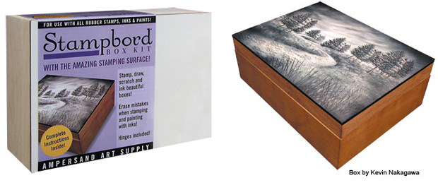 "Ampersand Stampbord Box: 5\"" x 7\"", Case of 4"
