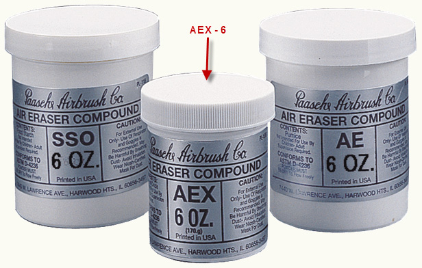 Paasche AEX-6 Fast Cutting Compound: 6 oz.