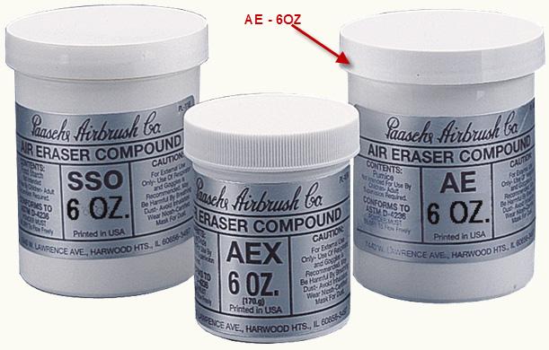 Paasche AE-6 Medium Cutting Compound: 6 oz.