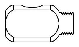 Paasche HF-342 3-Way-Tee