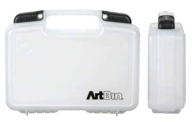 "Artbin Small Quick View Stdanard Base Carrying Case: Clear Transparent, 10.5"" x 3.125\"" x 8.375\"""