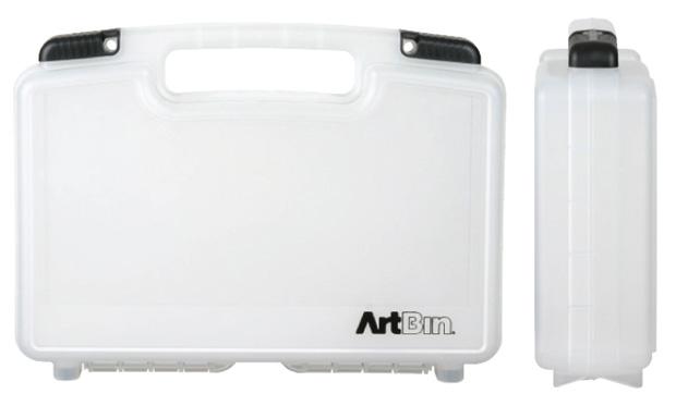 "Artbin Medium Quick View Standard Base Carrying Case: Clear Transparent,  14\"""
