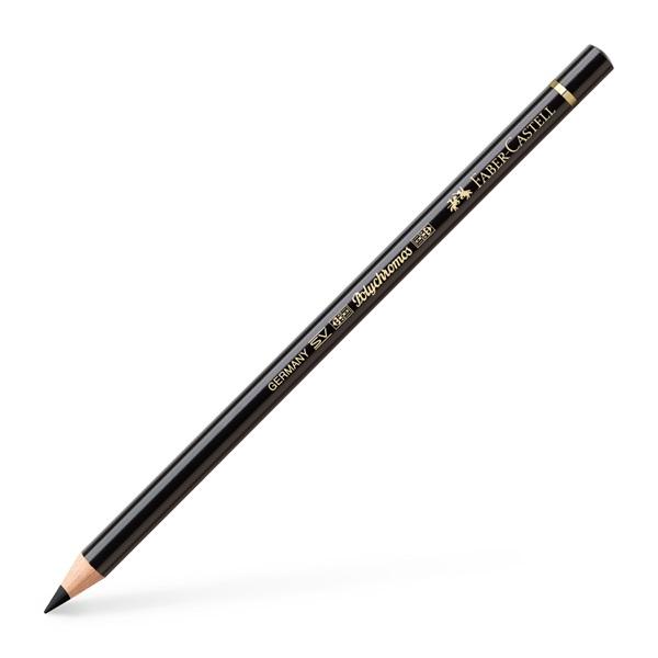 Faber-Castell Polychromos Artist Color Pencil: Soft Black