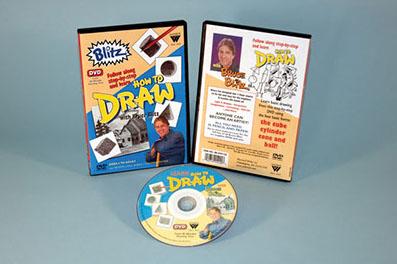 Bruce Blitz DVD: Draw Comic Strips, 1 Hour