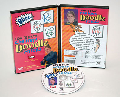 Bruce Blitz DVD: Draw Doodle Tricks, 1 Hour