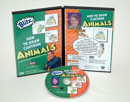 Bruce Blitz DVD: Draw Animals, 1 Hour