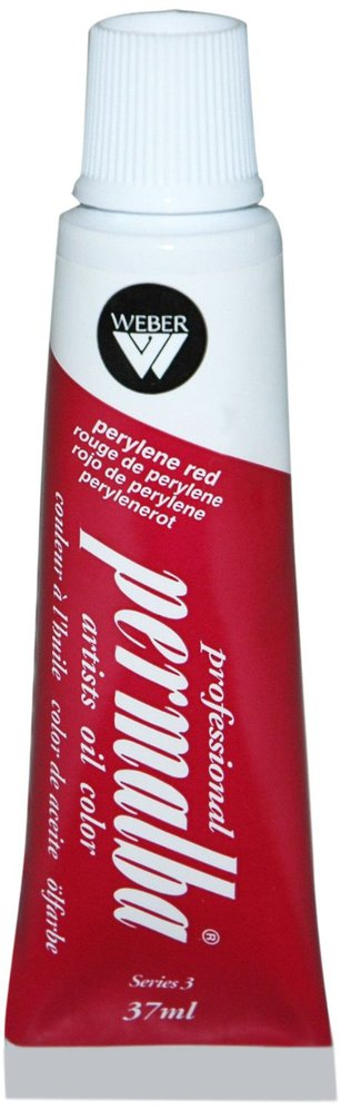 Professional Permalba Perylene Red: 37ml Tube