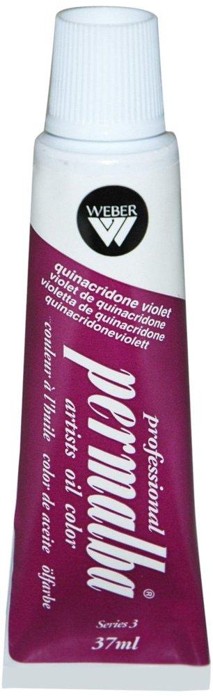 Professional Permalba Quinacridone Violet: 37ml Tube