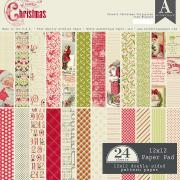 Authentique - Classic Christmas 12x12 Paper Pad