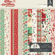 Authentique - Retro Christmas 12x12 Paper Pad