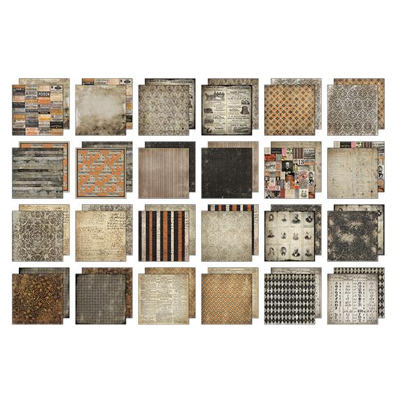 Advantus - Tim Holtz - Ideaology - Mini Stash 8x8 - Materialize