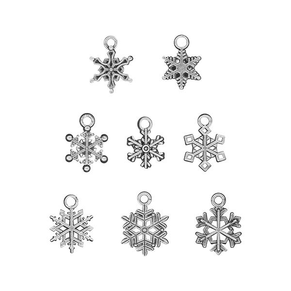 Advantus - Tim Holtz - Ideaology - Adornments Snowflakes