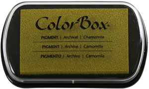 Clearsnap - ColorBox Classic Pigment Inkpad - Chamomile