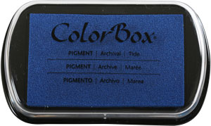 Clearsnap - ColorBox Classic Pigment Inkpad - Tide