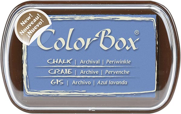 Clearsnap - ColorBox Chalk Inkpad - Periwinkle