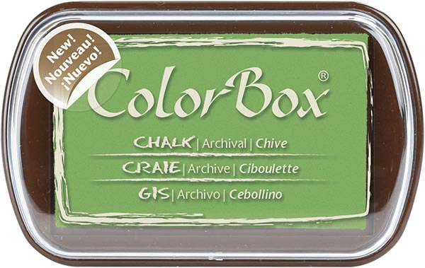 Clearsnap - ColorBox Chalk Inkpad - Chive
