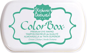 Clearsnap - ColorBox Premium Dye Ink by Stephanie Barnard - Ocean
