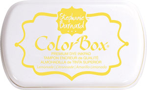 Clearsnap - ColorBox Premium Dye Ink by Stephanie Barnard - Lemonade