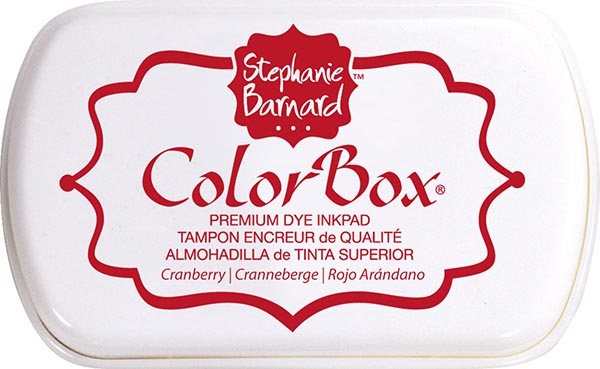 Clearsnap - ColorBox Premium Dye Ink by Stephanie Barnard - Cranberry