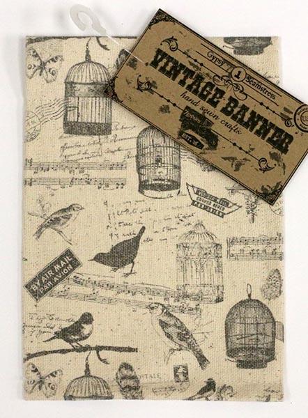 Canvas Corp - Vintage Banner - Canvas - Birds