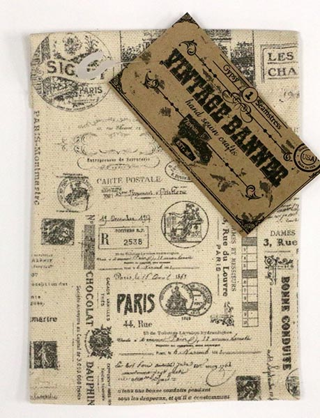 Canvas Corp - Vintage Banner - Canvas - Paris
