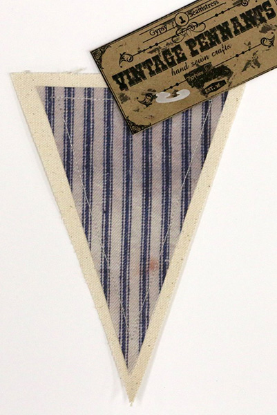 Canvas Corp - Vintage Pennant - Rustic Ticking