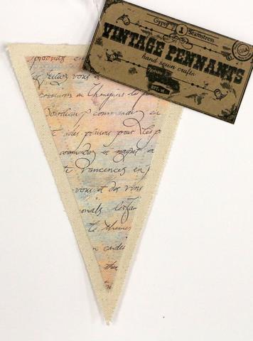 Canvas Corp - Vintage Pennant - Script