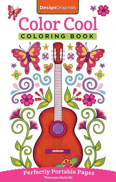 Design Originals - Color Cool Coloring Book