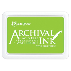 Ranger - Archival Ink Pad - Vivid Chartreuse