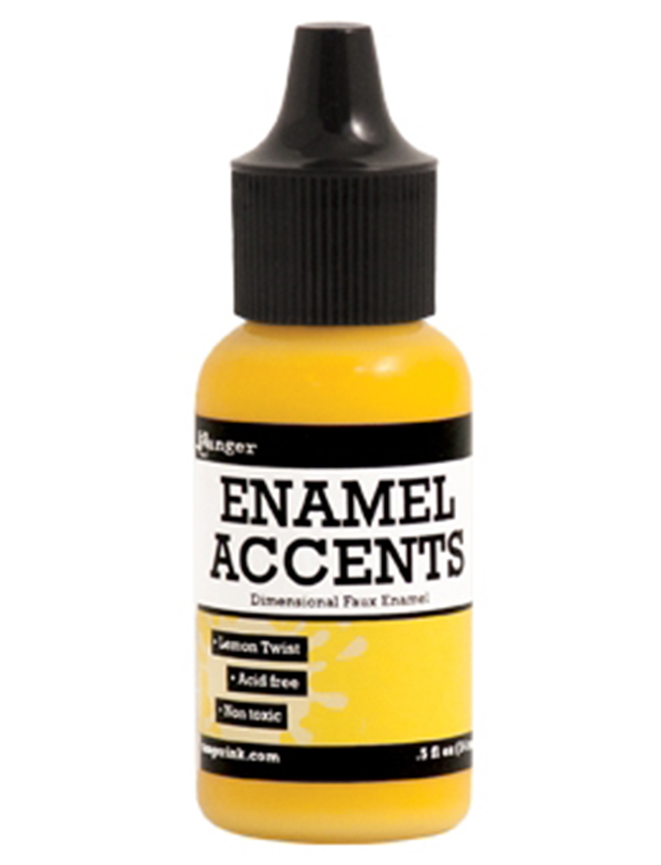 Ranger - Enamel Accents - Lemon Twist