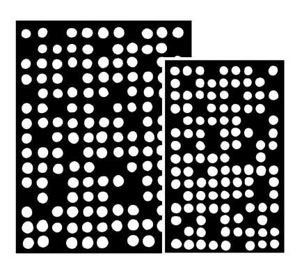 Ranger - Dyan Reaveley - Dylusions - Stencils - Fresh Dots Large