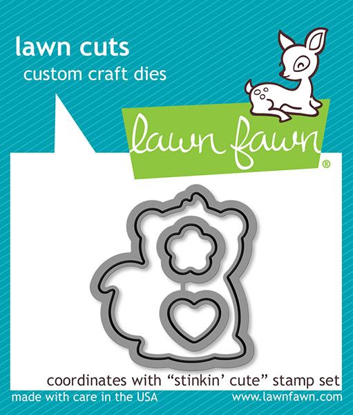 Lawn Fawn - Lawn Cuts - Stinkin Cute Dies