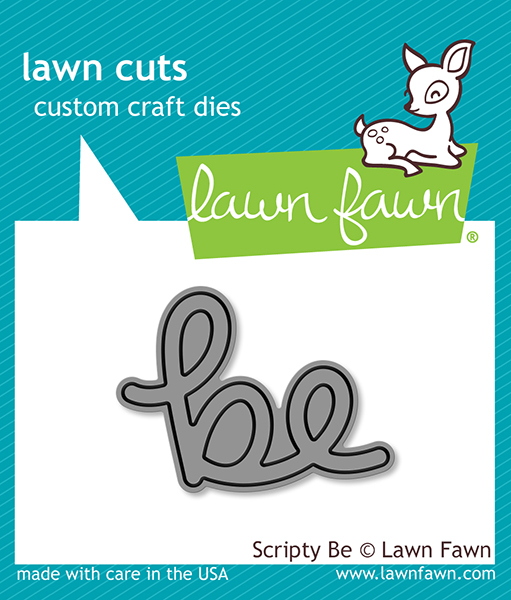 Lawn Fawn - Lawn Cuts - Scripty Be Die