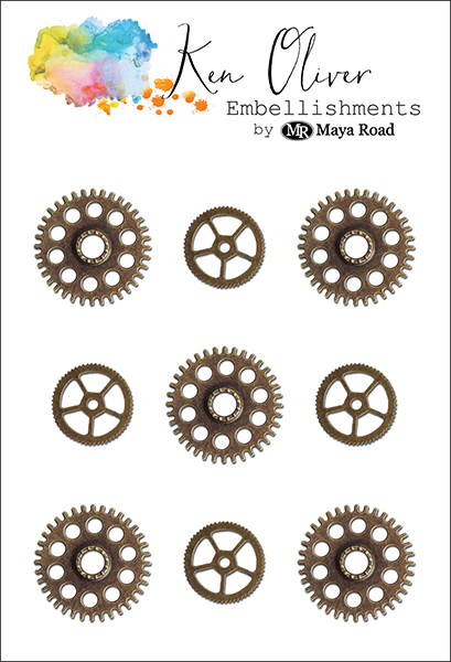 Maya Road - Ken Oliver - Charms - Gears