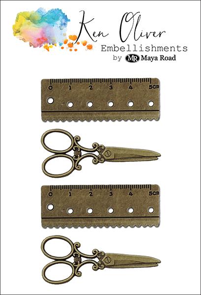 Maya Road - Ken Oliver - Charms - Crafting Tools