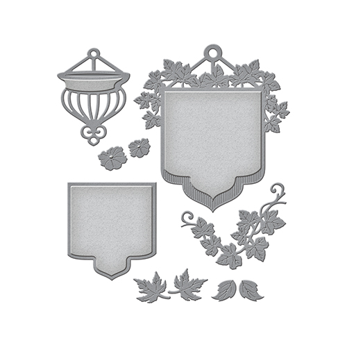Spellbinders - Shapeabilities - Beautiful Banner Basket Die