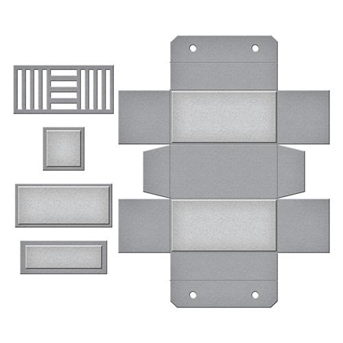 Spellbinders - Shapeabilities - Box of Treats Die