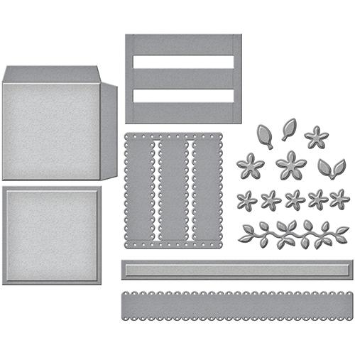 Spellbinders - Shapeabilities - Decorative Flower Basket Die