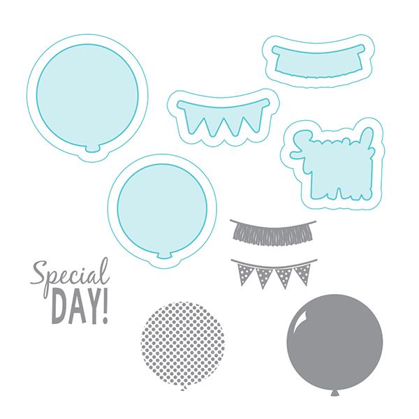 Spellbinders - Stamp/Die Set - Celebra'tions - Special Day