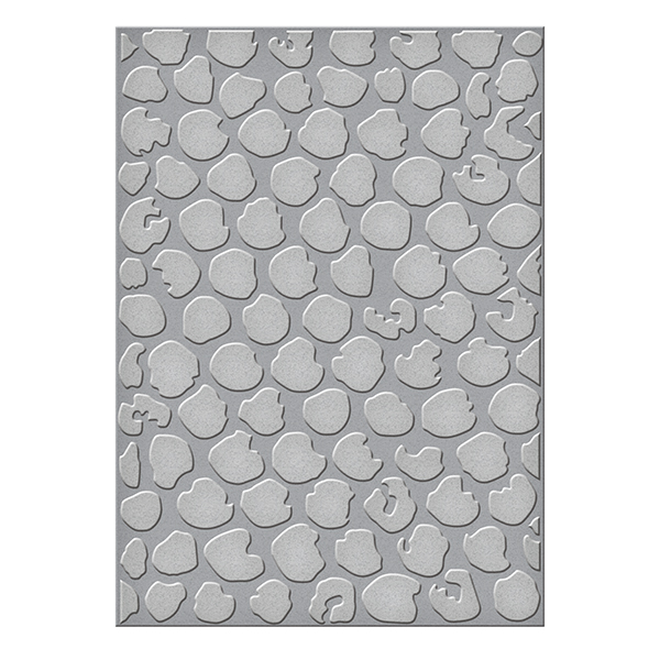 Spellbinders - Embossing Folders - Donna Salazar - Bubble Wrap